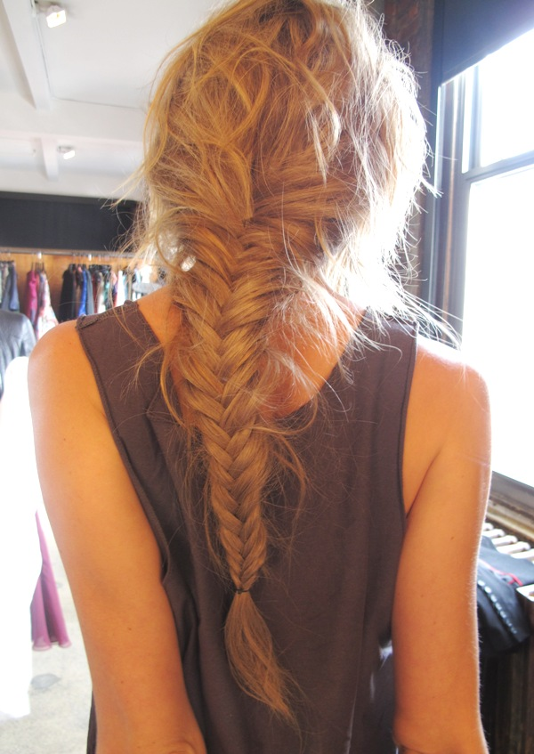 Braids for Fish tail hair